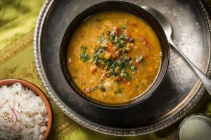 Image for a bowl of lentil soup for